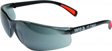 Okuliare ochranné tmavé typ B517 (YT-73641)