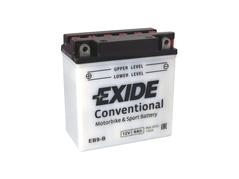 Motobatéria EXIDE BIKE Conventional 9Ah, 12V, YB9-B (E5031)