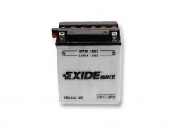 Motobatéria EXIDE BIKE Conventional 12Ah, 12V, YB12L-A2 (E5035)