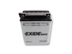 Motobatéria EXIDE BIKE Conventional 12Ah, 12V, YB12A-A (E5034)