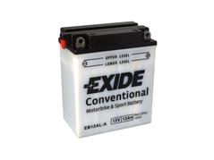 Motobatéria EXIDE BIKE Conventional 12Ah, 12V, YB12AL-A (E5750)