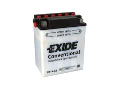 Motobatéria EXIDE BIKE Conventional 14Ah, 12V, YB14-A2 (E5036)