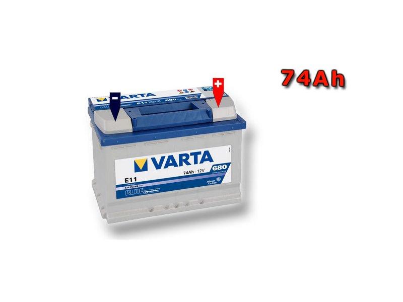 autobat ria varta blue dynamic 74ah 12v 574012068 sgl. Black Bedroom Furniture Sets. Home Design Ideas